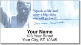 Teddy Roosevelt Address Labels