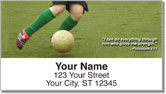 Sports Scripture Address Labels