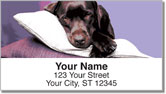 Dog Portrait Address Labels