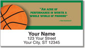 Red Auerbach Address Labels