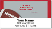 Woody Hayes Address Labels
