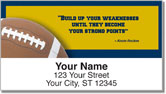 Knute Rockne Address Labels