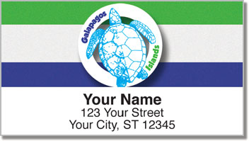 Galapagos Islands Address Labels