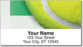 Classic Tennis Ball Address Labels