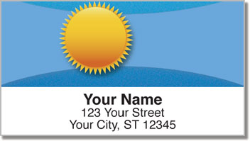 Weather Icon Address Labels