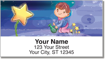 Happy Child Address Labels