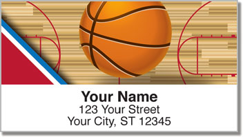 U.S. Basketball Address Labels