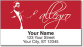 Music Conductor Address Labels