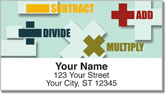 Math Symbol Address Labels
