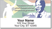 Nelson Mandela Address Labels
