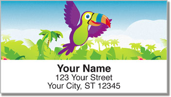 Totally Toucan Address Labels