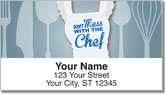 Apron Attitude Address Labels