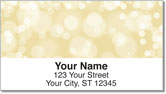 Floating Orb Address Labels