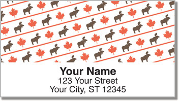 Oh Canada! Address Labels