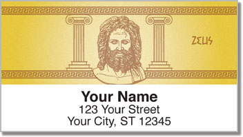 Greek God Address Labels