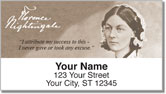 Florence Nightingale Address Labels