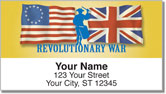 Revolutionary War Address Labels