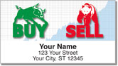 Stock Market Address Labels