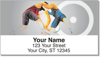 Wrestling Address Labels