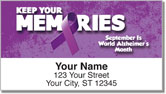 Alzheimer's Awareness Address Labels