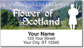 Scotland Address Labels