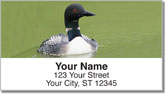 Common Loon Address Labels
