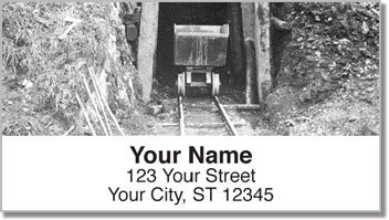 Gold Rush Address Labels