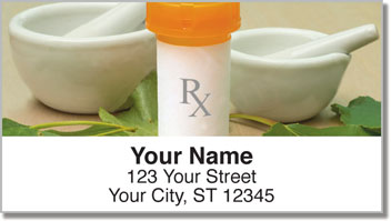 Pharmacy Address Labels