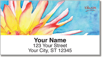 Floral Series 1 Address Labels