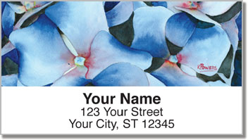 Floral Series 2 Address Labels