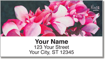 Floral Series 3 Address Labels