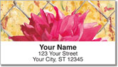 Floral Series 4 Address Labels