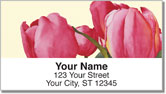 Floral Series 8 Address Labels