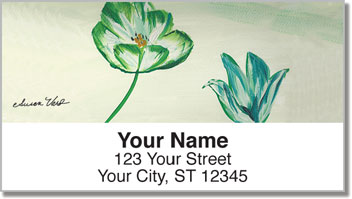 Susan Varo Floral Address Labels