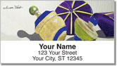Spinning Top Address Labels