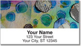 Paper Circle Address Labels