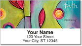 Canvas Painting Address Labels