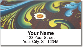 Rosemaling 1 Address Labels