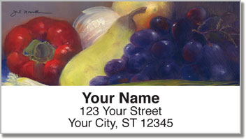 Still Life Address Labels