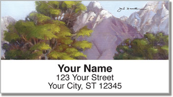 Grand Tetons Address Labels