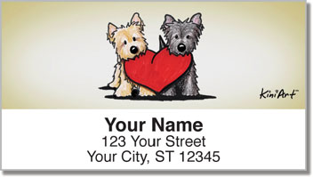 Cairn Series Address Labels