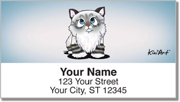 Cat Series 2 Address Labels