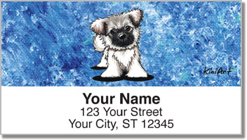 Painted Series Address Labels