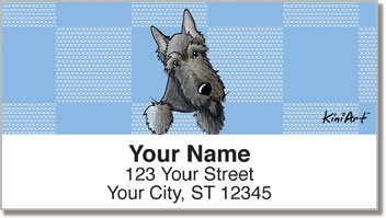 Scottie Series Address Labels
