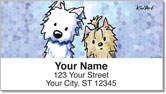 Terrier Friends Address Labels
