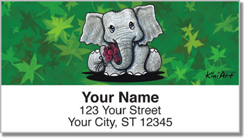 Wildlife Series 1 Address Labels