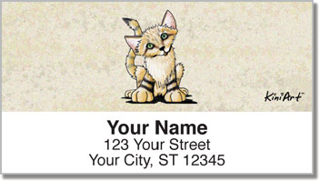 Wildlife Series 2 Address Labels