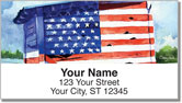 Americana Painting Address Labels