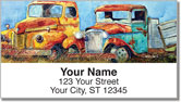 Rusty Truck Address Labels