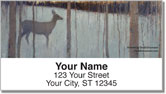Deer and Forest Address Labels